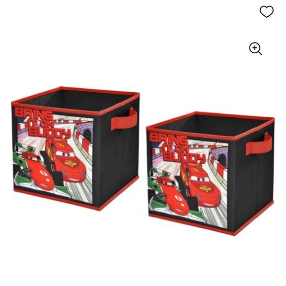 Disney Cars 2-Pack Storage Cub